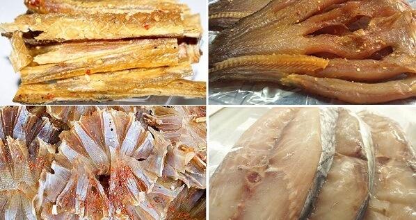 Các loại cá khô ngon nhất