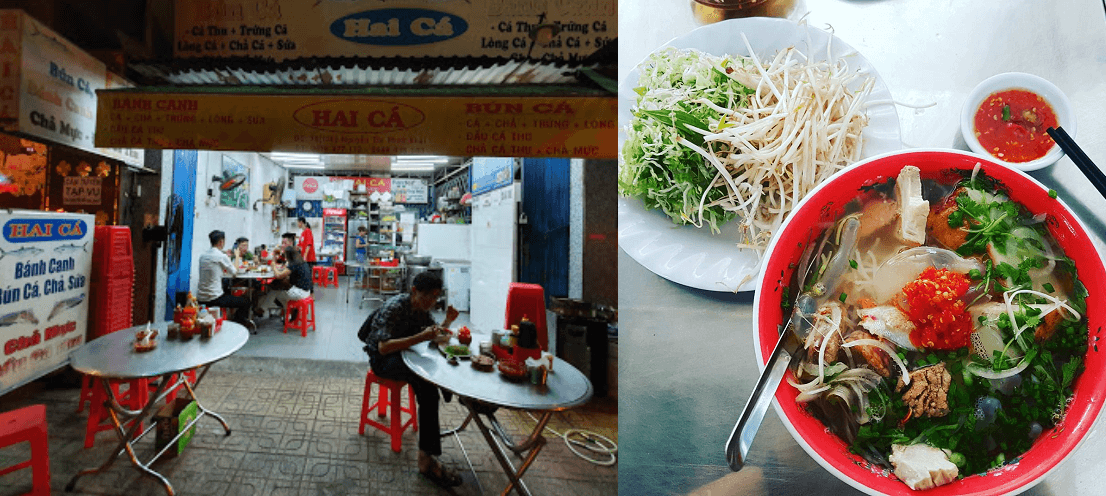 Bún cá Nha Trang ở đâu ngon