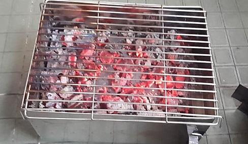 Bếp than nướng cá biển là ngon nhất