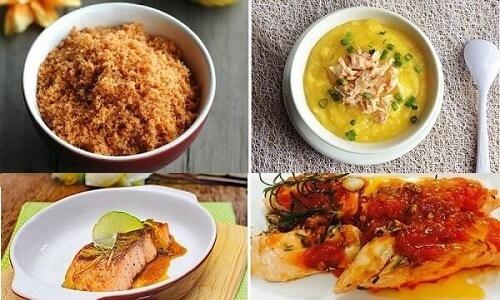 cách chế biến cá hồi cho trẻ ăn cơm hoặc ăn dặm