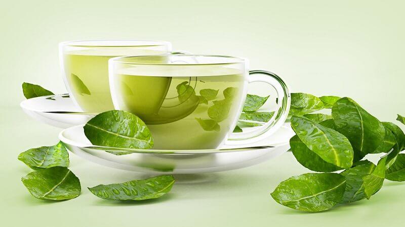 trà xanh tươi