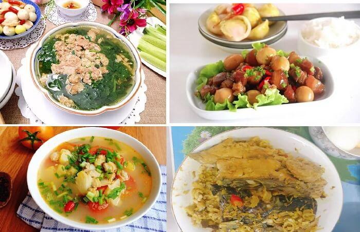 các món ăn đơn giản