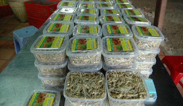 giá bán khô cá cơm các loại