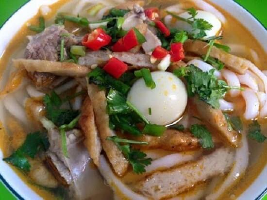 Bánh canh chả cá Phan Rang Mai Lý