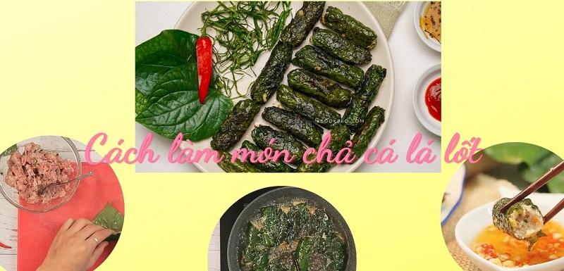 cách làm món chả cá lá lốt