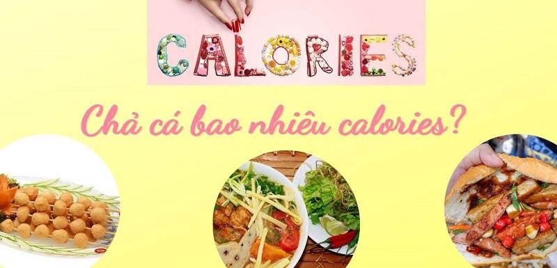 chả cá bao nhiêu calories
