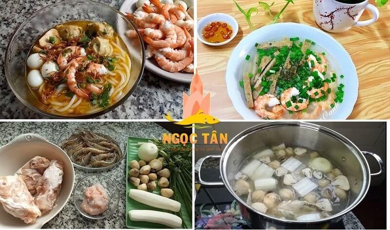 cách nấu bánh canh bột gạo chả cá