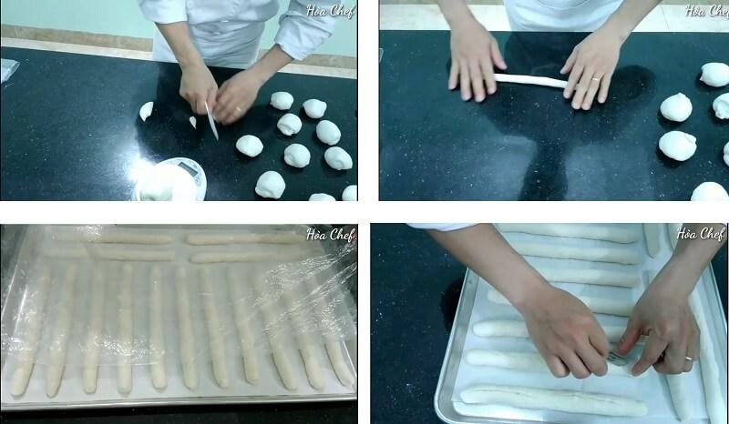 cách làm bánh mì que