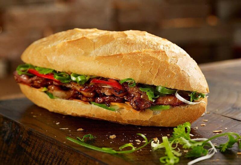 cách làm bánh mì thịt nướng
