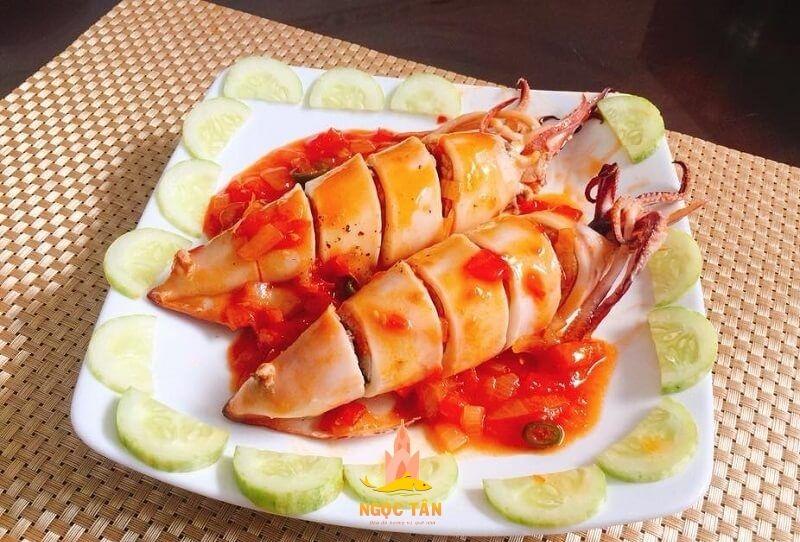Hướng dẫn cách làm mực dồn thịt sốt cà chua