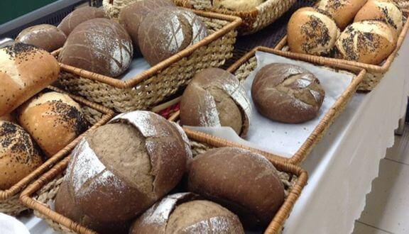 Bánh mì đen tại Các siêu thị lớn