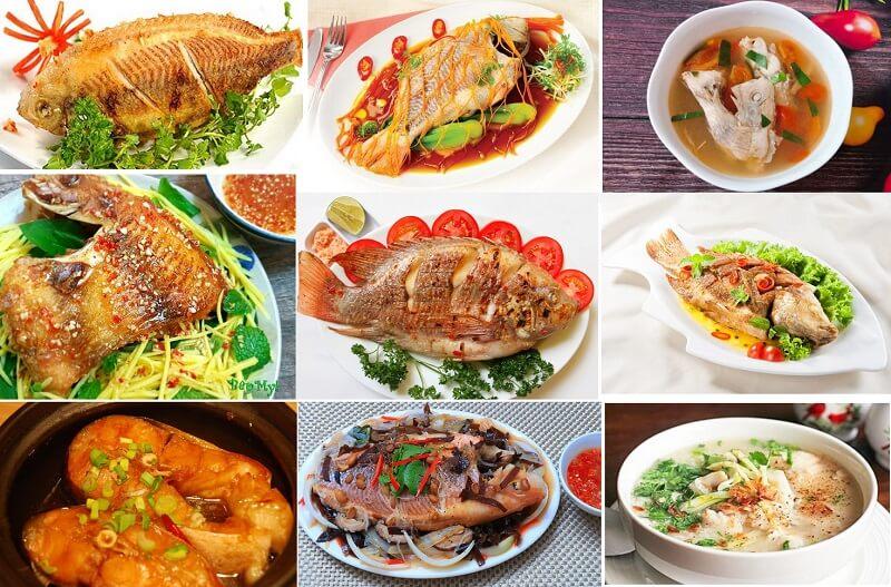 Top 10 các món ngon từ cá diêu hồng bạn nhé!